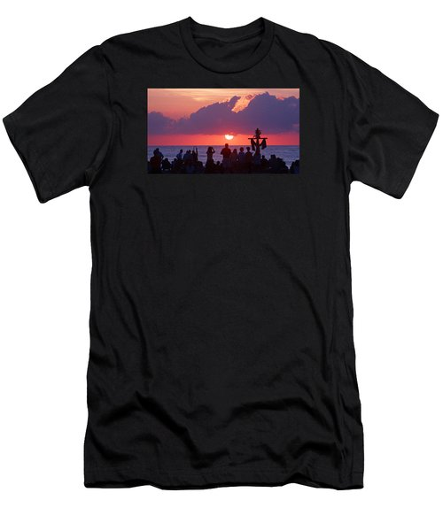 Easter Sunrise Beach Service Men's T-Shirt (Athletic Fit)