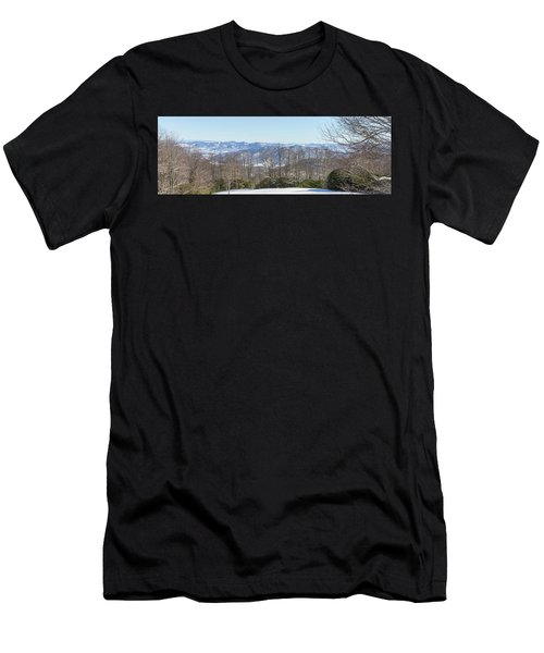 Easterly Winter View Men's T-Shirt (Athletic Fit)