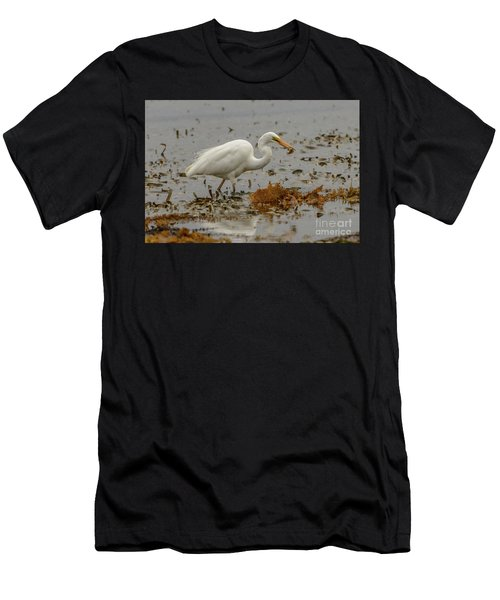 Eastern Great Egret 10 Men's T-Shirt (Athletic Fit)