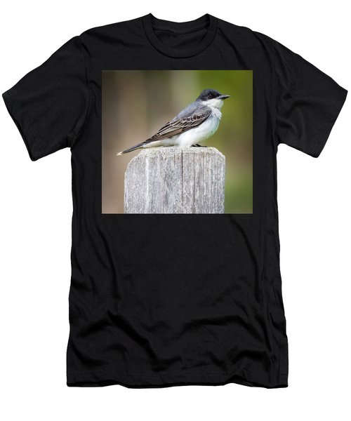 Men's T-Shirt (Athletic Fit) featuring the photograph Eastern Kingbird 2018 by Ricky L Jones