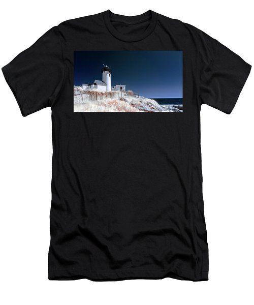 Men's T-Shirt (Athletic Fit) featuring the photograph Eastern Point Infrared by Brian Hale