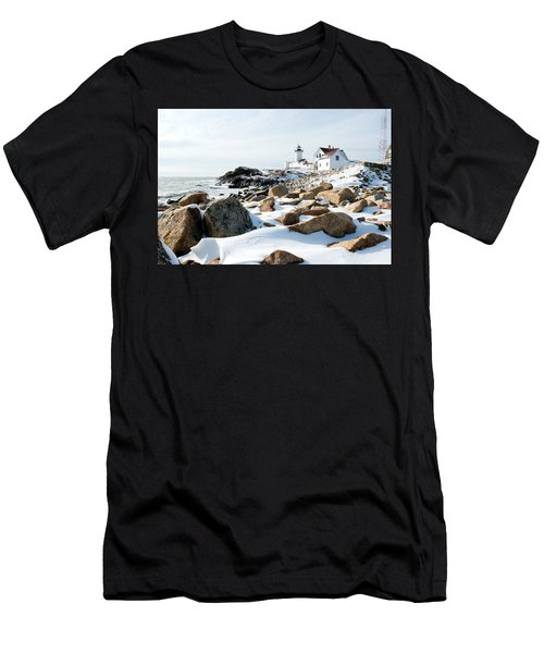 Eastern Point Light II Men's T-Shirt (Athletic Fit)