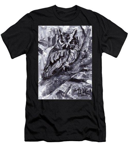 Eastern Screech-owl Men's T-Shirt (Athletic Fit)