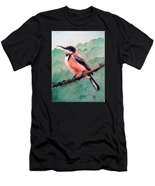 Eastern Spinebill Men's T-Shirt (Athletic Fit)