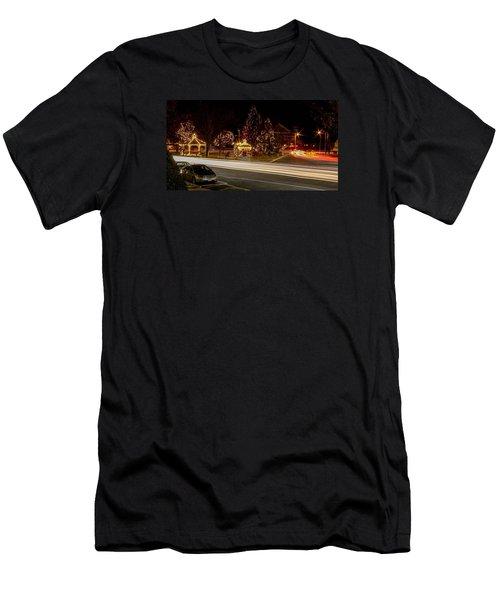 Easthampton Light Trails Men's T-Shirt (Athletic Fit)