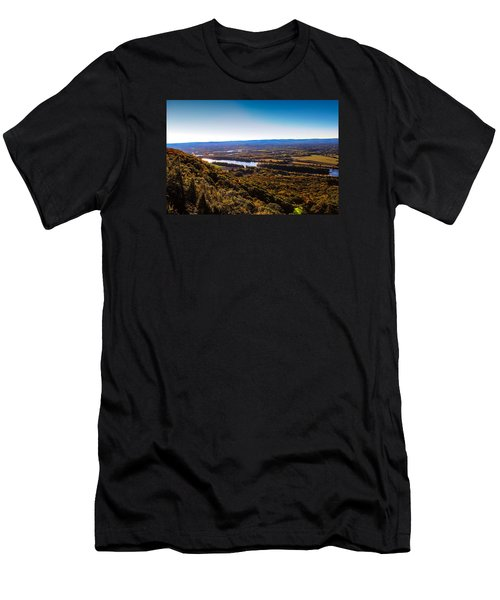 Easthampton View From Summit House Men's T-Shirt (Athletic Fit)