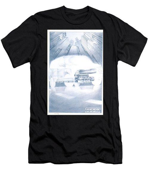 Eaton Electric Van Men's T-Shirt (Athletic Fit)