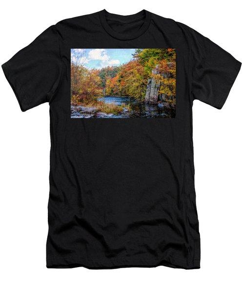 Eau Claire Dells Fall 2 Men's T-Shirt (Athletic Fit)
