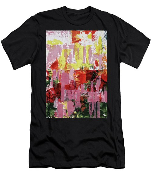 Coneflowers And Sun Men's T-Shirt (Athletic Fit)