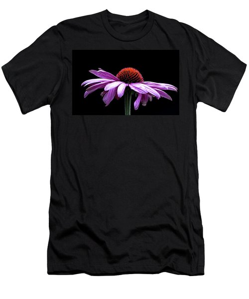 Echinacea Men's T-Shirt (Athletic Fit)
