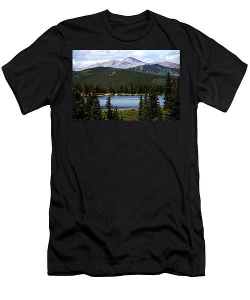 Echo Lake Colorado Men's T-Shirt (Athletic Fit)