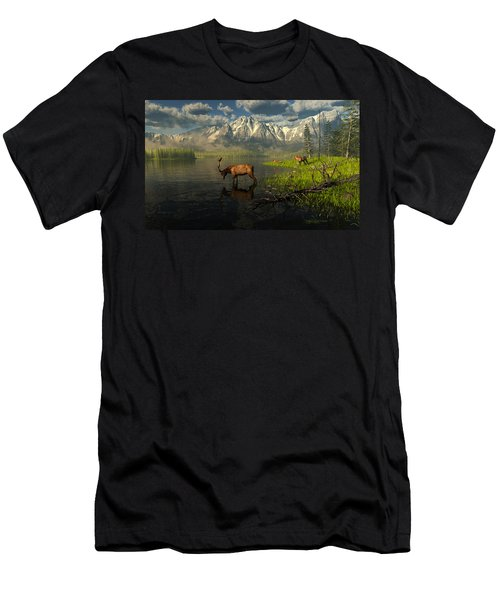 Echoes Of A Lost Frontier Men's T-Shirt (Athletic Fit)