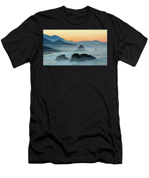 Ecola State Park  Men's T-Shirt (Athletic Fit)