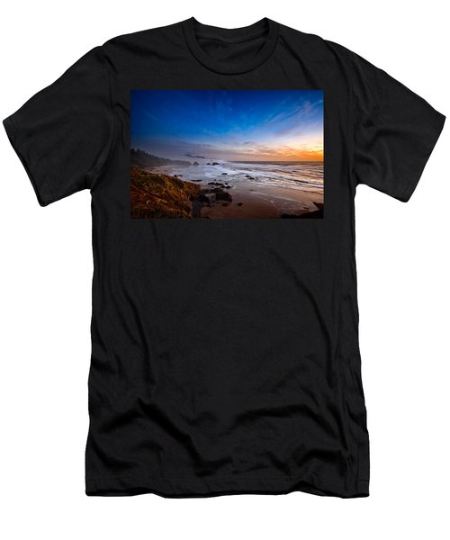 Ecola State Park At Sunset Men's T-Shirt (Athletic Fit)
