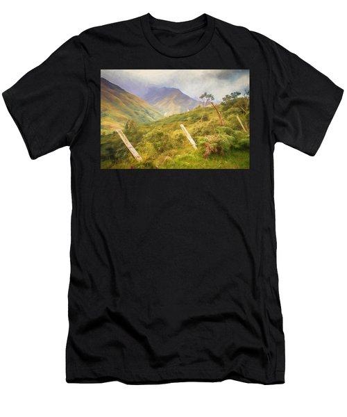 Ecuadorian Mountain Forest Men's T-Shirt (Athletic Fit)