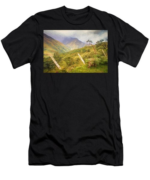 Ecuadorian Mountain Forest Men's T-Shirt (Athletic Fit)
