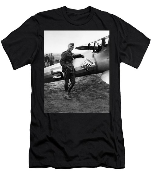 Eddie Rickenbacker - Ww1 American Air Ace Men's T-Shirt (Athletic Fit)
