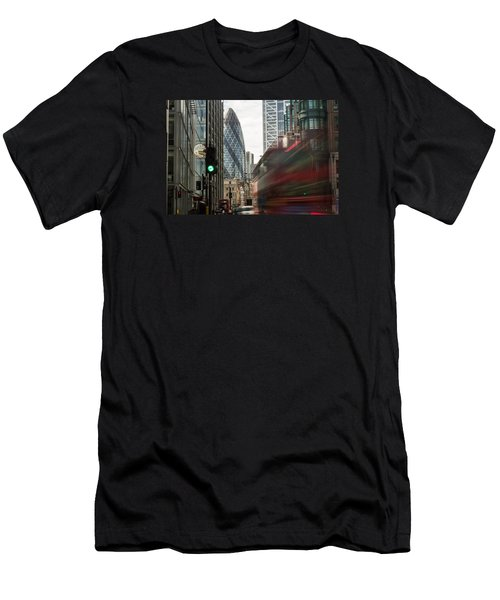 Egg Shaped Building A Men's T-Shirt (Athletic Fit)