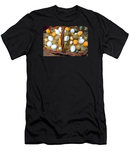Eggs In All Sizes And Cool Colors Men's T-Shirt (Athletic Fit)