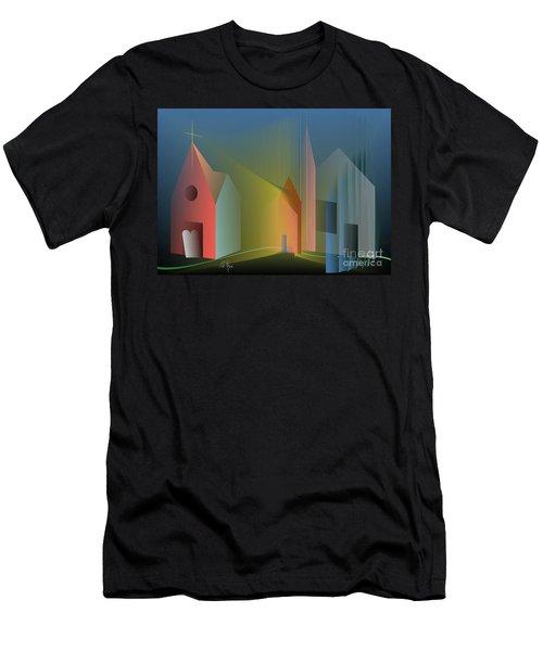 Ego Sum Via Veritas Et Vita Men's T-Shirt (Athletic Fit)