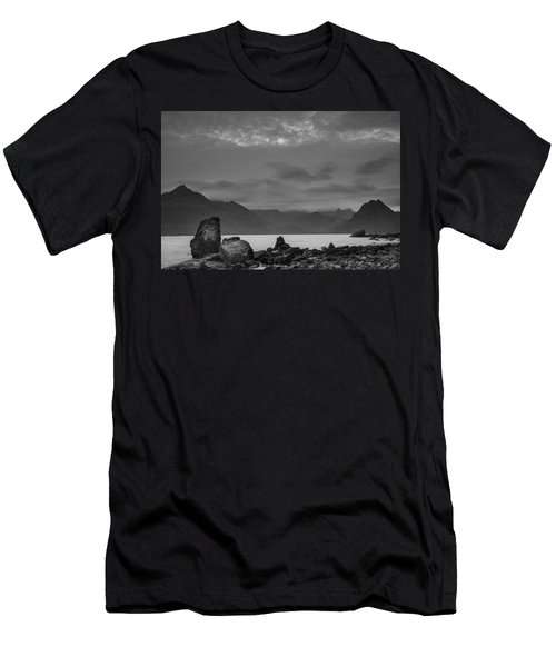 Egol Beach On The Isle Of Skye In Scotland Men's T-Shirt (Athletic Fit)