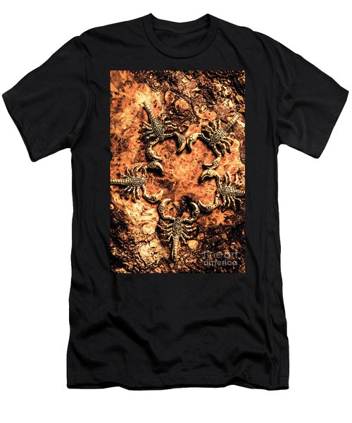 Egyptian Scopions Men's T-Shirt (Athletic Fit)