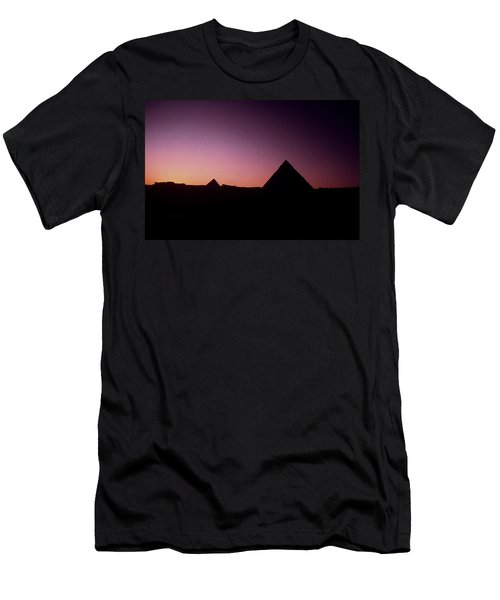 Egyptian Sunset Men's T-Shirt (Athletic Fit)
