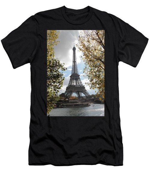 Eiffel From Avenue De New York Men's T-Shirt (Athletic Fit)