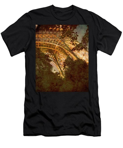 Paris, France - Eiffel Oldplate II Men's T-Shirt (Athletic Fit)