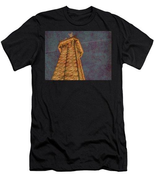 Paris, France - Eiffel Peak Men's T-Shirt (Athletic Fit)