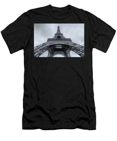 Eiffel Tower 3 Men's T-Shirt (Athletic Fit)