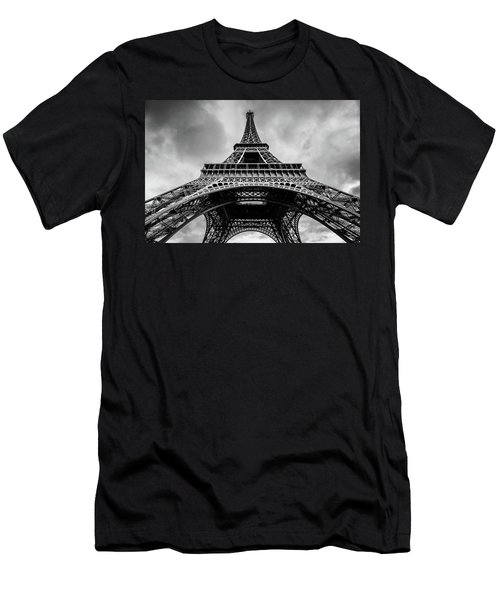 Eiffel Tower 4 Men's T-Shirt (Athletic Fit)