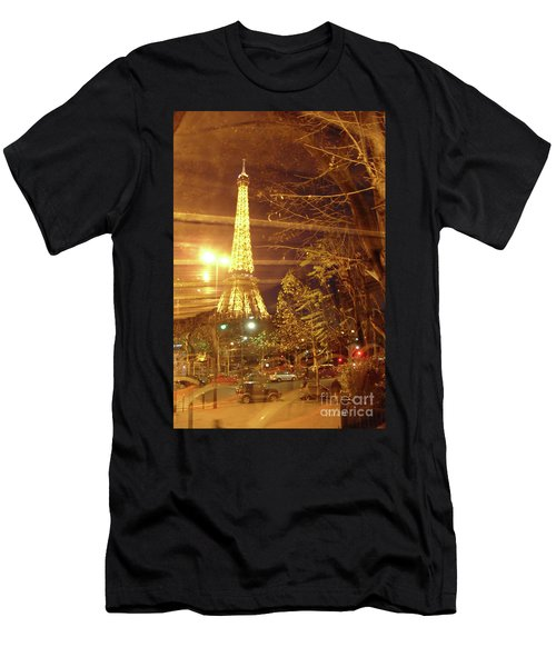 Eiffel Tower By Bus Tour Men's T-Shirt (Athletic Fit)