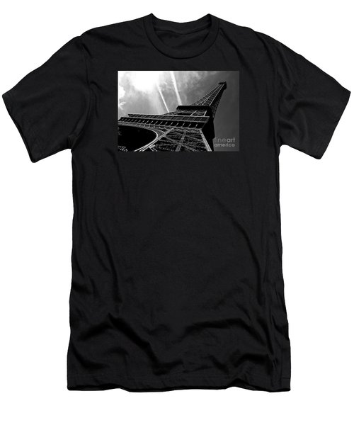 Men's T-Shirt (Athletic Fit) featuring the photograph Eiffel Tower by Miles Whittingham