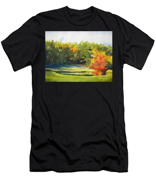 Eighteenth Hole Men's T-Shirt (Athletic Fit)