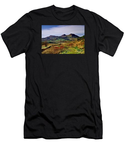 Eildon Hills Borders Scotland Men's T-Shirt (Athletic Fit)