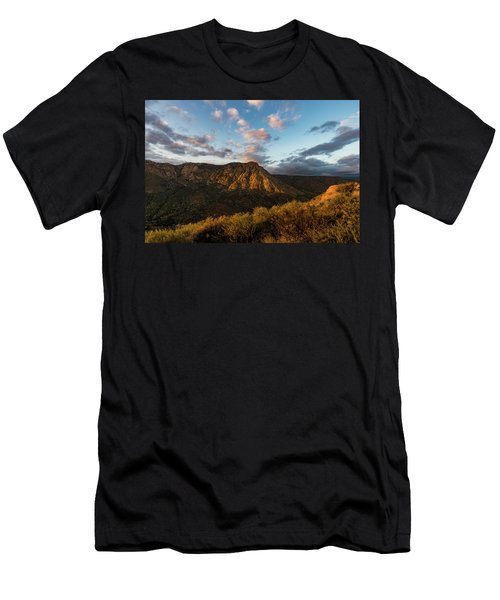El Cajon Mountain Last Light Men's T-Shirt (Athletic Fit)