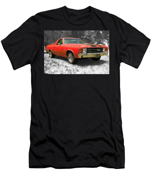 Men's T-Shirt (Athletic Fit) featuring the photograph El Camino 1 by Daniel Adams