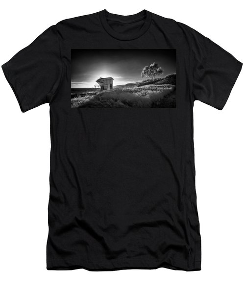 Men's T-Shirt (Slim Fit) featuring the photograph El Capitan by Sean Foster