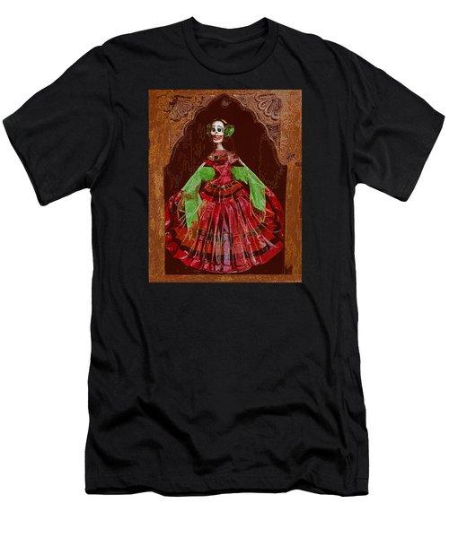 El Dia De Los Muertos Men's T-Shirt (Athletic Fit)