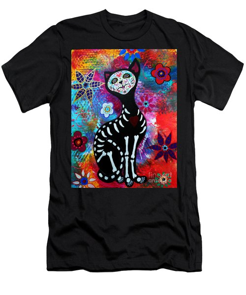 El Gato II Day Of The Dead Men's T-Shirt (Athletic Fit)