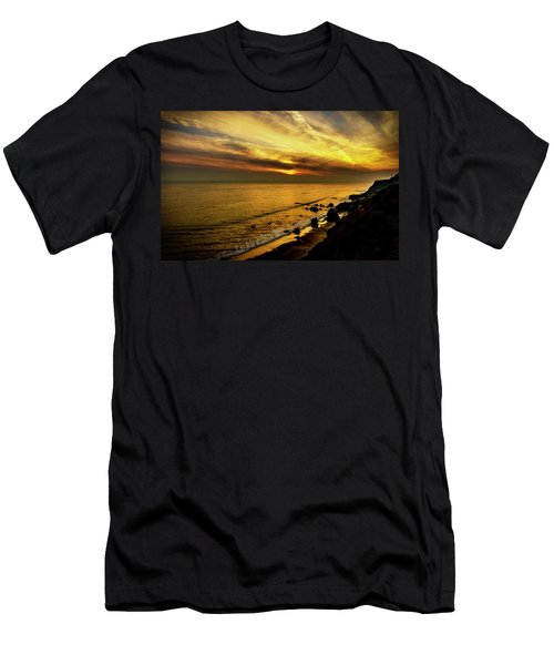 El Matador Beach Sunset Men's T-Shirt (Athletic Fit)