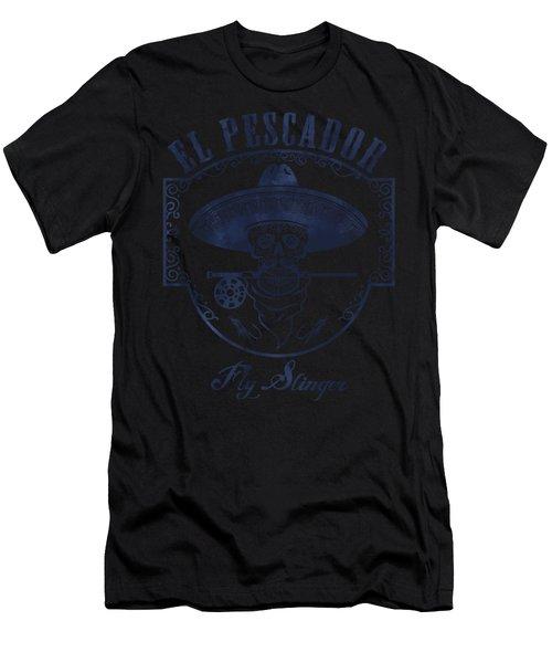 El Pescador Men's T-Shirt (Athletic Fit)