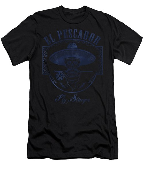 El Pescador Men's T-Shirt (Athletic Fit)