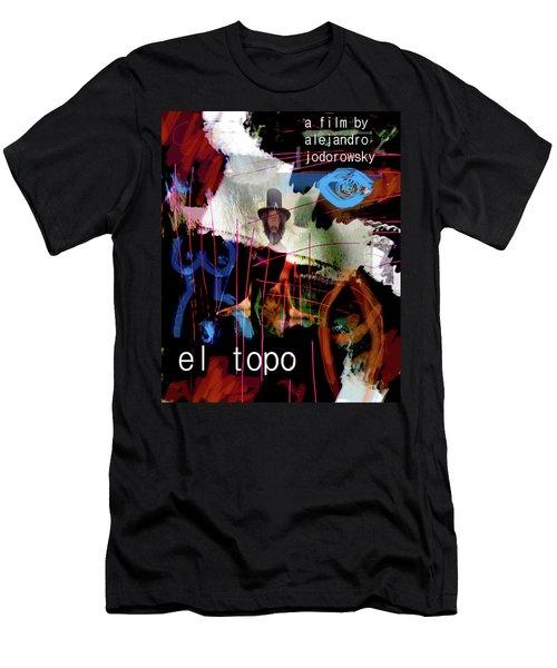 El Topo Film Poster  Men's T-Shirt (Athletic Fit)