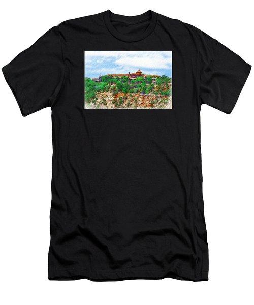 El Tovar At The Grand Canyon Men's T-Shirt (Athletic Fit)