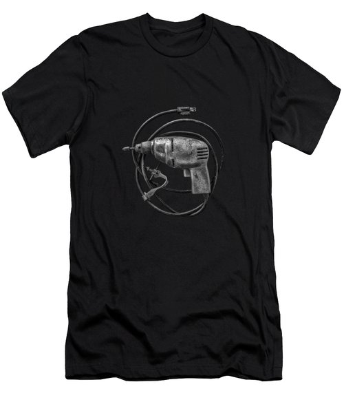 Electric Drill Motor Men's T-Shirt (Athletic Fit)
