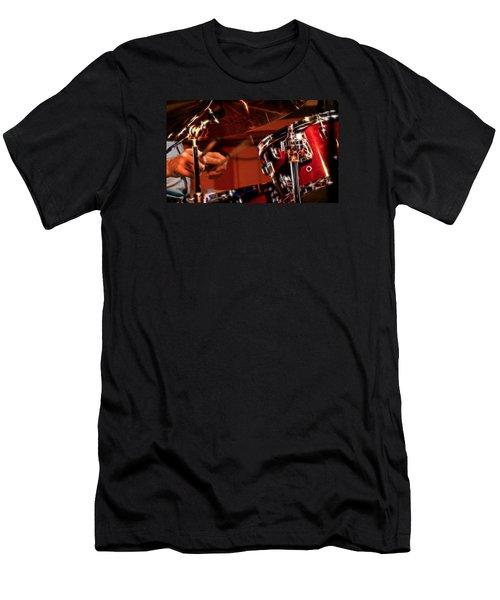 Electric Drums Men's T-Shirt (Athletic Fit)