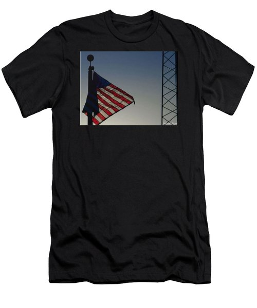 Electric Flag Men's T-Shirt (Athletic Fit)