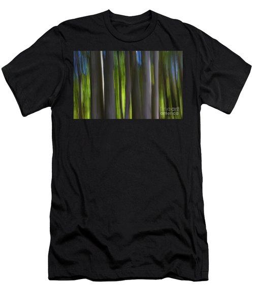 Electric Light  Men's T-Shirt (Athletic Fit)